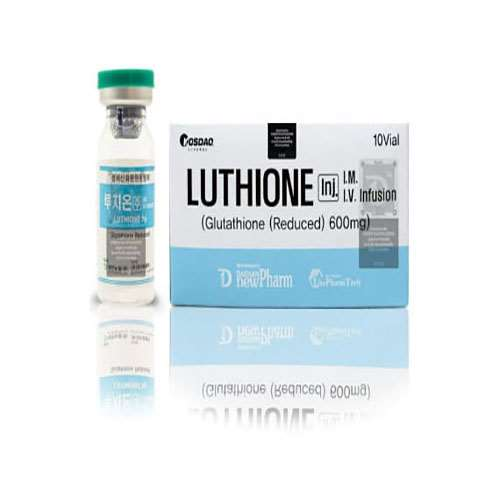 Luthione Glutathione Reduced 600mg 10 Sessions Injection | Healthcare Beauty