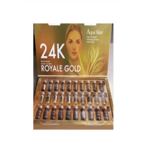 Aqua Skin 24K Royale Gold Glutathione Skin Whitening 10 Sessions Injection | Healthcare Beauty