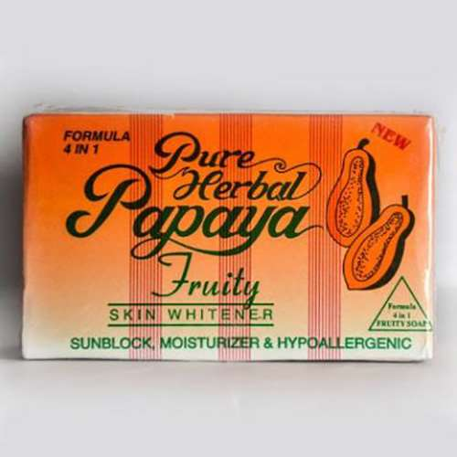 Papaya Pure Herbale Soap | Healthcare Beauty
