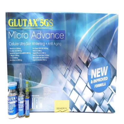 Glutax 5gs micro advance skin whitening injection | Healthcare beauty