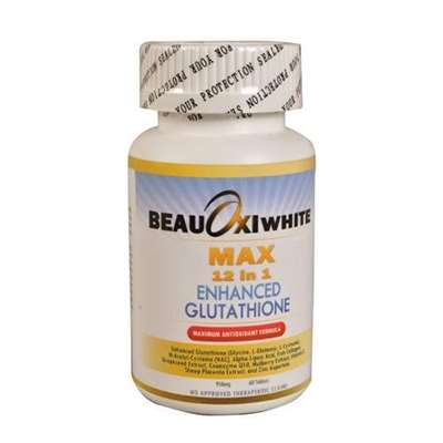 Beauoxi White Max 12 in 1 Enhanced Glutahione Skin Fairness Capsules | Healthcare Beauty