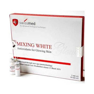 Swissmed Mixing White Energize Glutathione injection | Healthcare Beauty