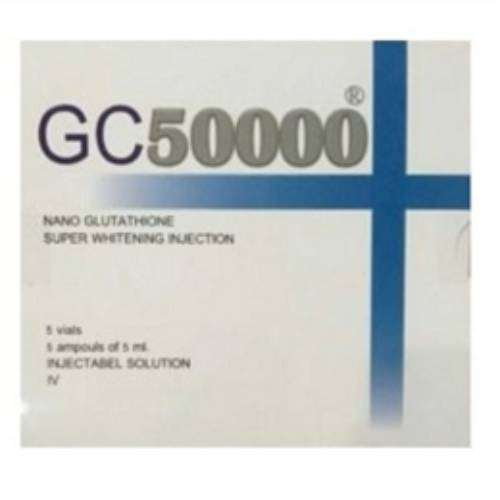 GC 50000 Nano Glutathione Super Whitening Injection 5 Sessions