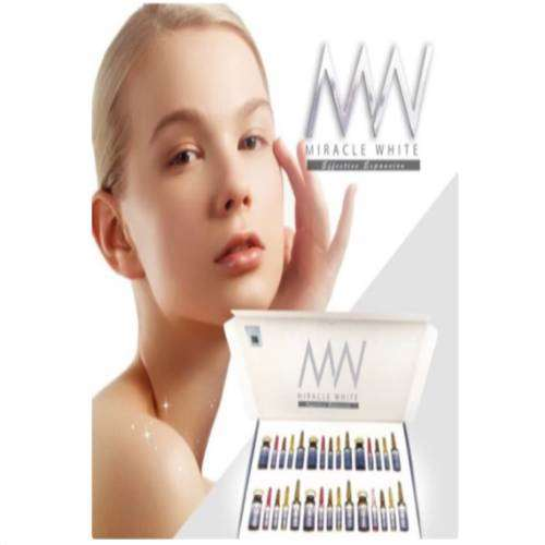 Miracle white 18000 mg skin whitening injection 6 Sessions | Healthcare Beauty