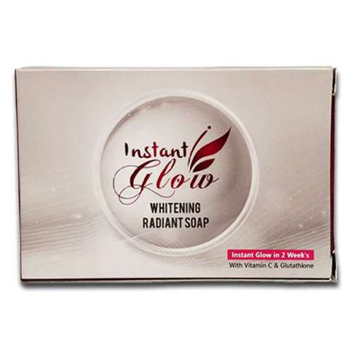 Instant Glow Skin Whitening Soap | Healthcare Beauty