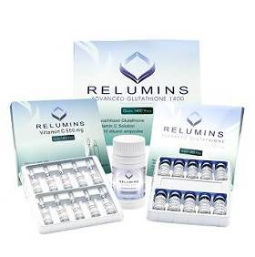Relumins Advanced Glutathione 1400mg Plus Booster Skin whitening injection | Healthcare Beauty