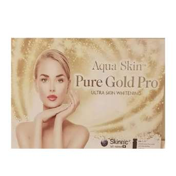 Aqua Skin Pure Gold Pro Ultra Skin Whitening 30 Sessions Injection