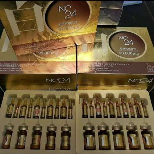 NC 24 Nano Concentrated Pro 90000 Glutathione Skin Whitening Injection