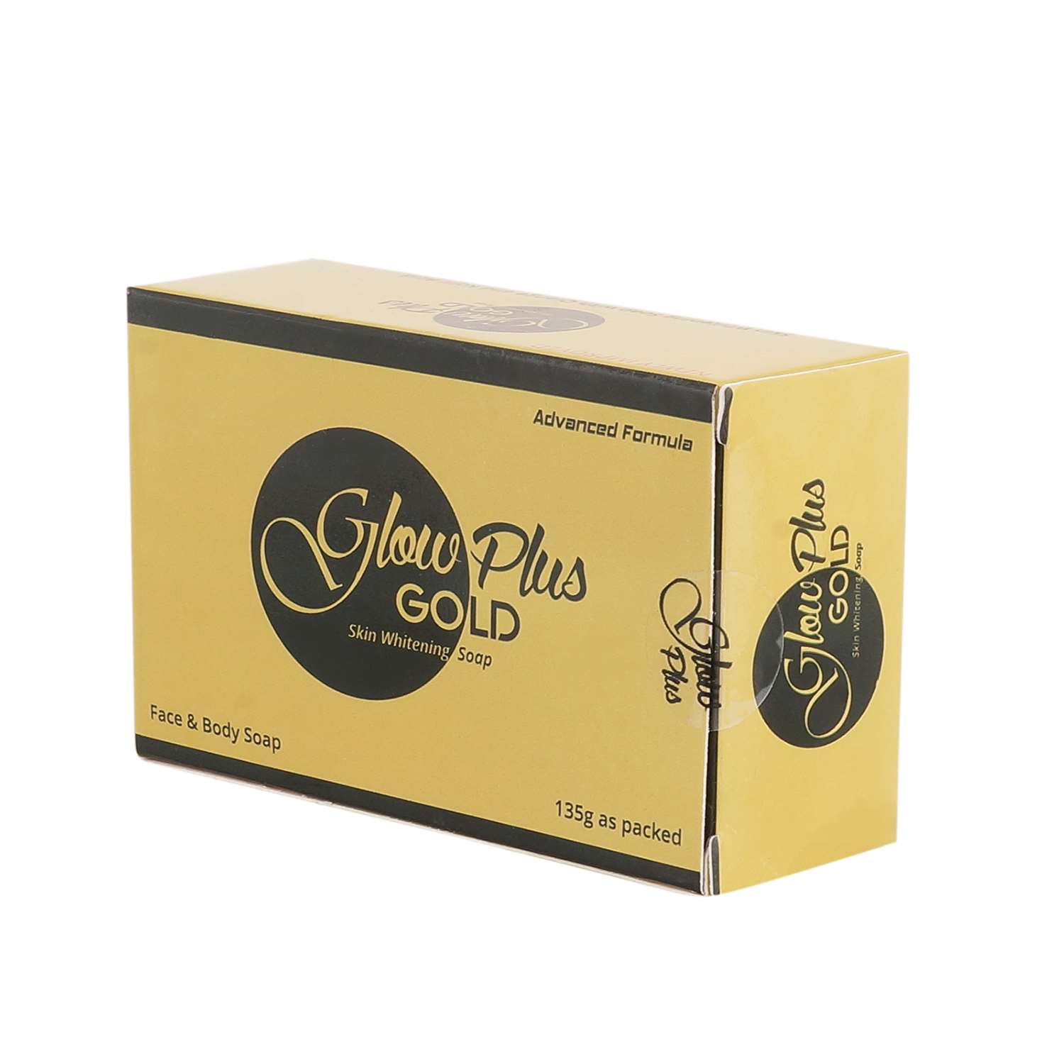 Glow Plus Gold Face and Body Whitening Soap | Healthcare Beauty