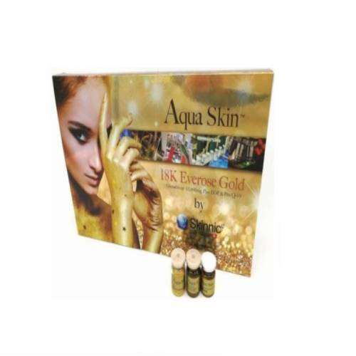 Aqua Skin 18K Everose Gold Glutathione Skin Whitening 10 Sessions Injection | Healthcare Beauty