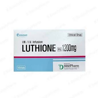 Luthione Glutathione Reduced 1200mg 10 Sessions skin whitening Injection | Healthcare Beauty