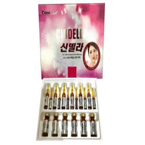 Cindella 5 in 1 EGF Glutathione Skin Whitening 6 Sessions Injection | Healthcare Beauty