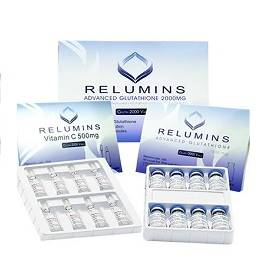 Relumins Advanced Glutathione 2000mg With Booster Skin whitening injection | Healthcare Beauty
