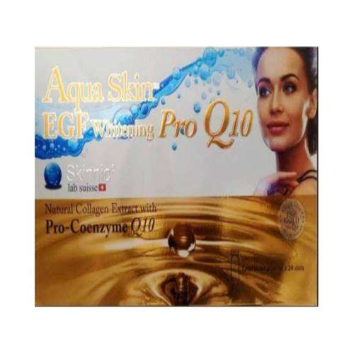 Aqua Skin EGF Whitening Pro Q10 Glutathione Skin Whitening 24 Sessions Injection | Healthcare Beauty