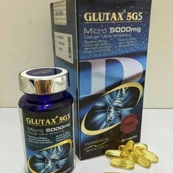 Glutax 5gs Cellular Ultra Whitening Softgels Capsules
