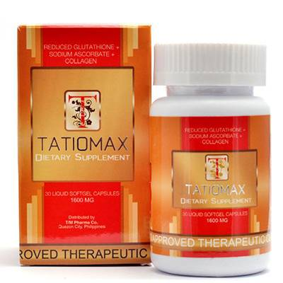 Tatiomax plus 1600mg softgels | Healthcare Beauty