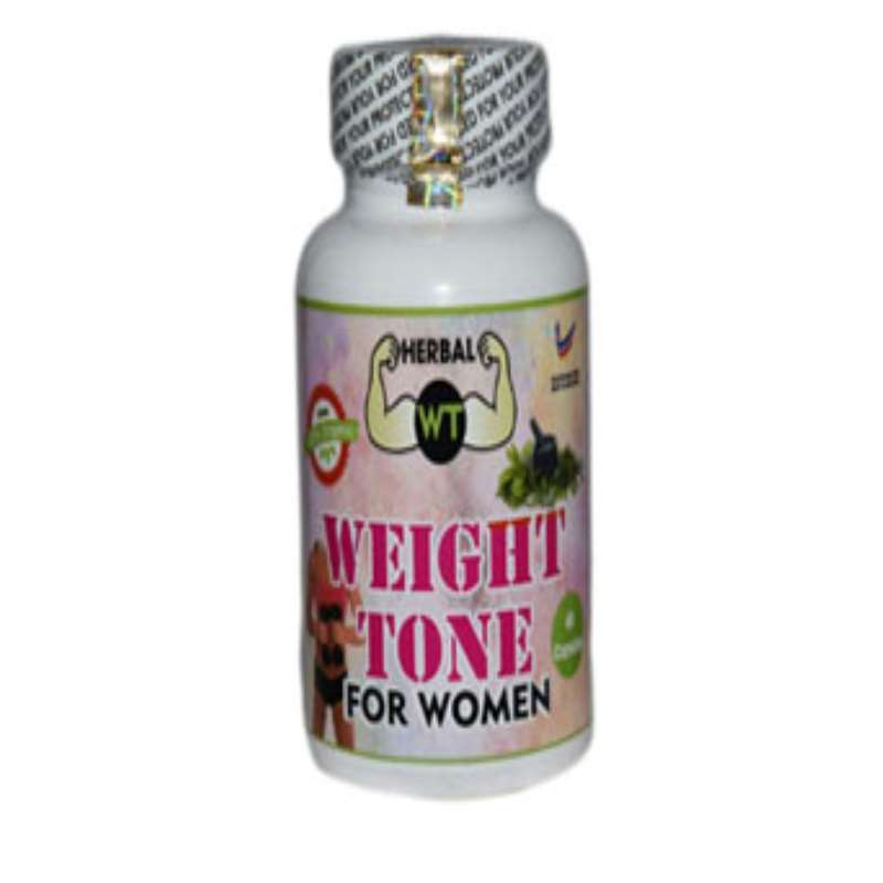 Weight Tone Herbal Capsules for Women