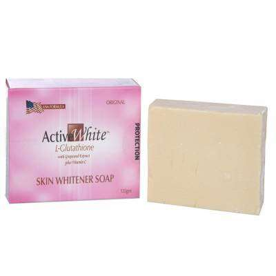 Active White L Glutathione Skin Whitening Soap | Healthcare Beauty