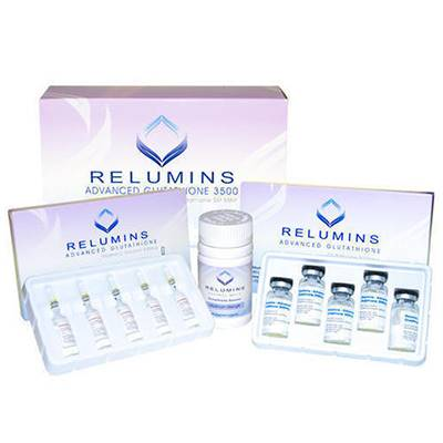 Relumins Advance Glutathione 3500mg Skin whitening injection | Healthcare Beauty