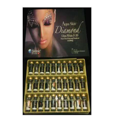 Aqua Skin Diamond Ultra White F 30 Sessions Skin Whitening Injection | Healthcare Beauty